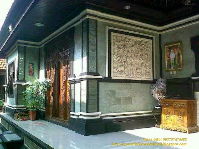 Rumah Minimalis Bali Green Spesialis Batu Alam Bali
