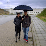 Ryan and wife at Luftkastellet