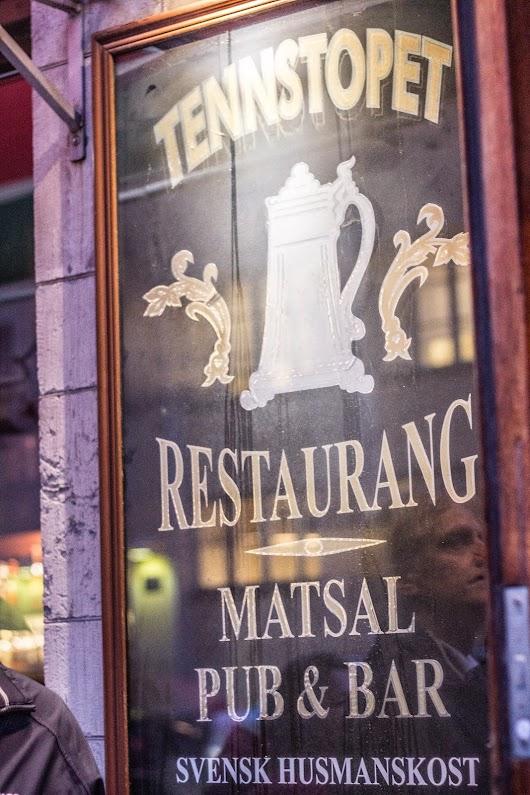 Tennstopet - Food Walk i Stockholm -  Mikkel Bækgaards Madblog