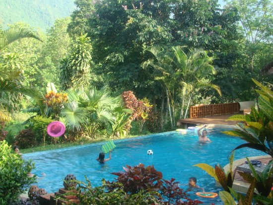 Hillside Lifestyle Resort special package with Tiger Trail, Luang Prabang, Laos
