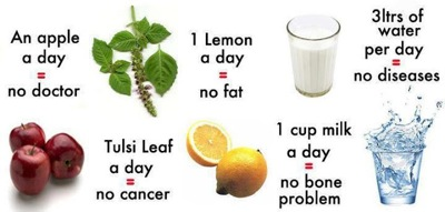 Daily Routine for good health