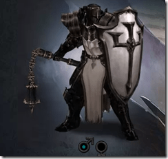The Crusader - Male