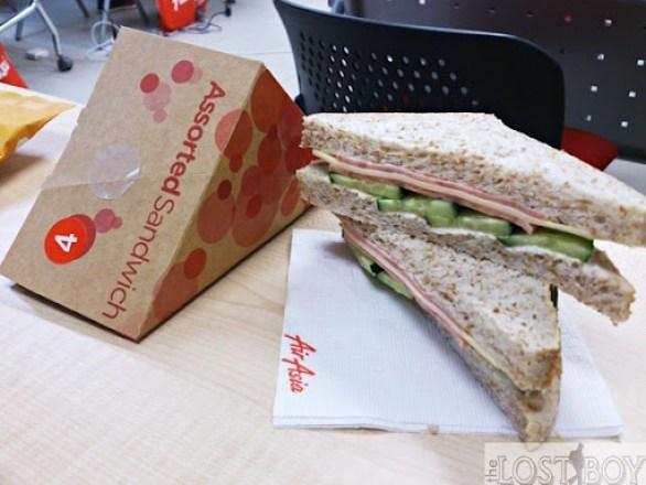 chicken ham cheese sandwich