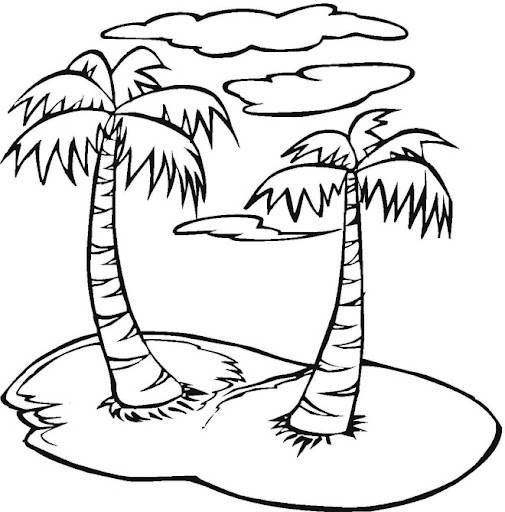 coloring pages islands coloring pages