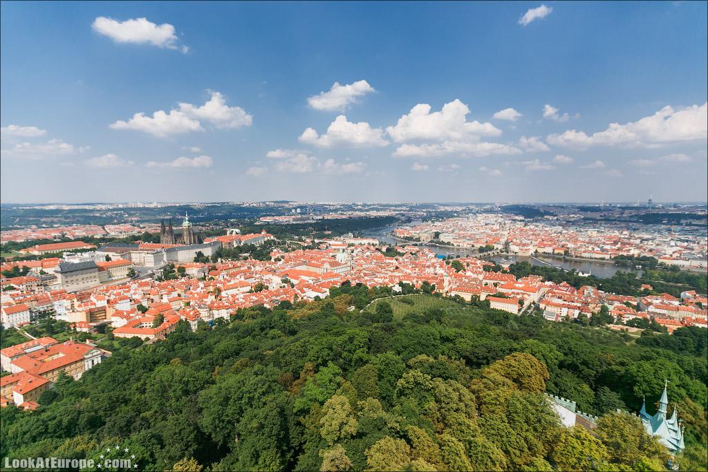 Евротур. Петршин холм в Праге