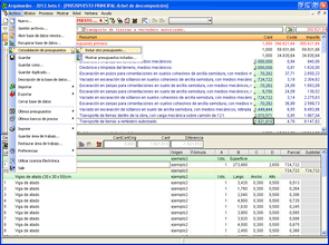 2013 de los programas de CYPE presupuestos
