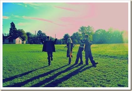 fav silly kids in the field