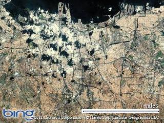 Jakarta from above! A bit of urban sprawl!