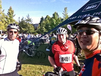 @the first stop - REI Stop 25 miles in