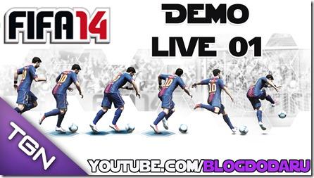 Fifa 14 Demo - Live #01