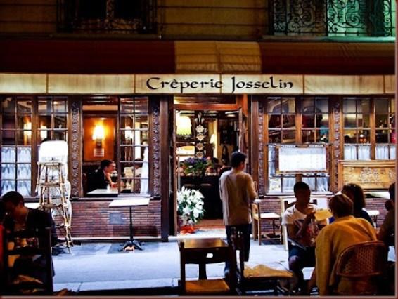 Josselin in Paris - eat cheap in Paris