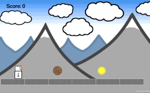 Snowman Runner screenshot 3