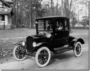 Ford T Coupe 1920
