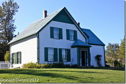 House on farm that was the basis of Anne of Green Gables