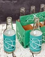 Busy Moms Helper - St Patricks Day Bottle Wrapper Printables