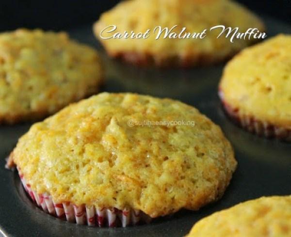 Carrot Walnut Muffin