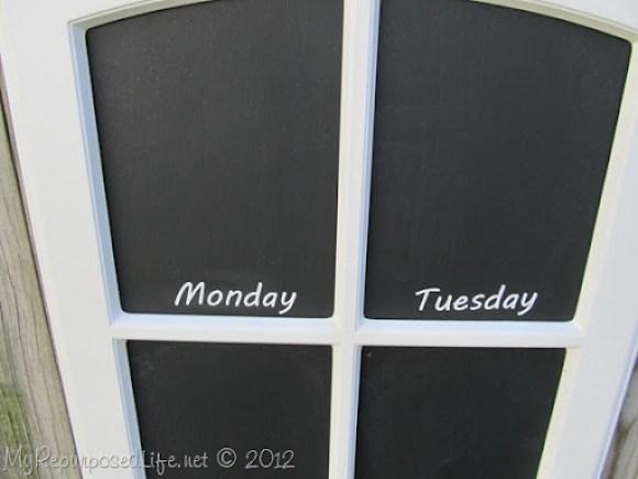 easy chalkboards menu board