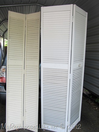 bifold louvered doors thrift store