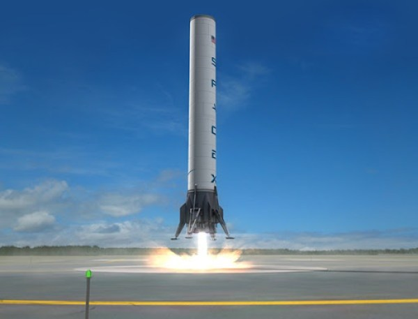 Space X Dragon 9 Fase 1 Returning