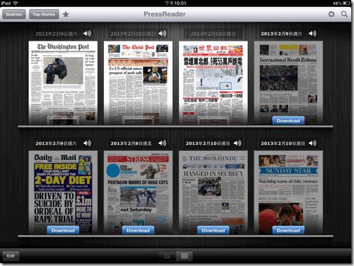 PressReader 英文報紙新聞紙本訂閱下載 iOS Android App