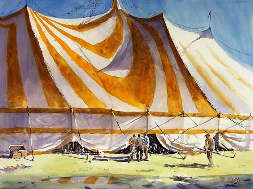 Acuarela Charles Sluga watercolor