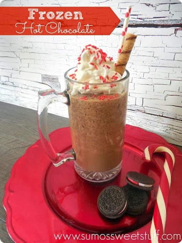 Frozen Hot Chocolate by SumosSweetStuff.com