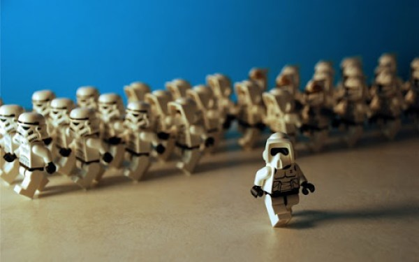 LEGO Star Wars Stormtroopers march