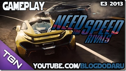 Need for Speed Rivals: Gameplay E3 2013