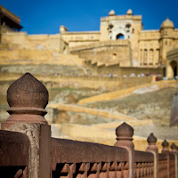 a long way up to the Amber fort - Canon T2i