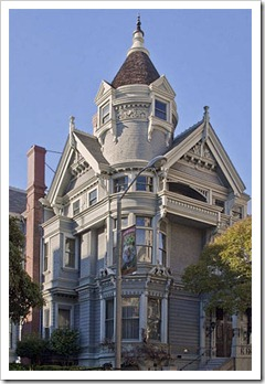 Haas-Lilienthal House, 2007 Franklin Street, built in 1886 in Queen Anne style