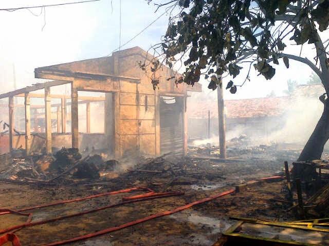 Kebakaran Terminal Banten Lama