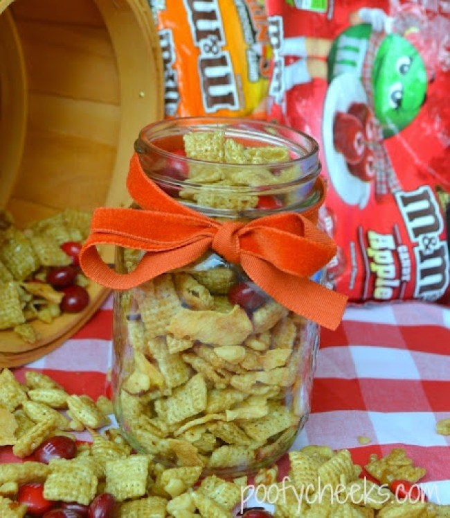 Apple Pie Trail Mix - an easy no-bake snack with the #FlavorofFall