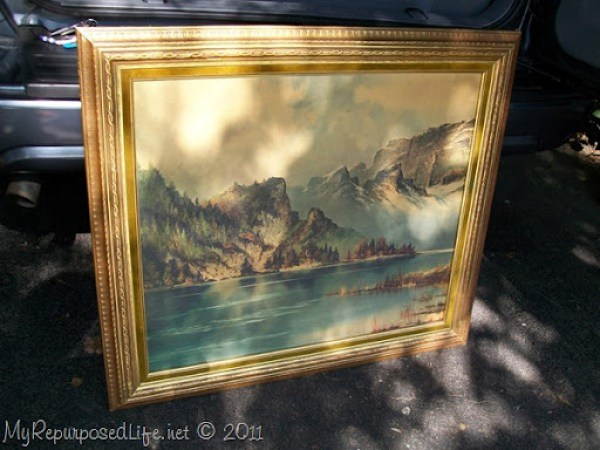 thrift store art work