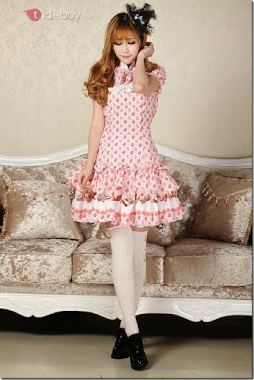 Tidebuy sweet lolita dress