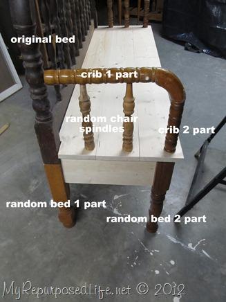 Spool Bench Parts