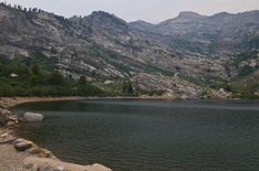 Angel Lake in the Ruby Mountains