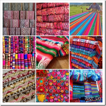 Mosaic of Pictures from Pinterest textiles