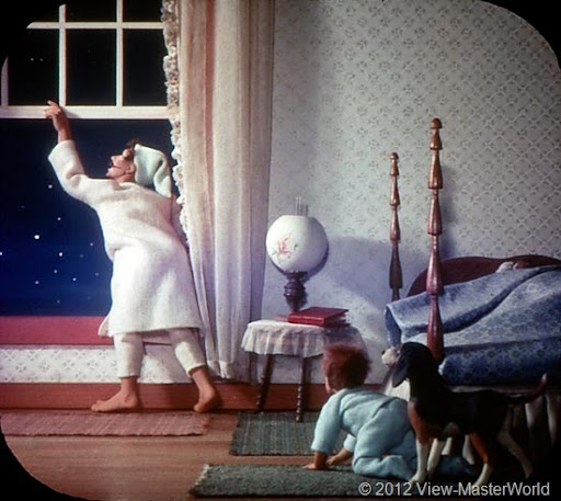 View Master World The Night Before Christmas B382