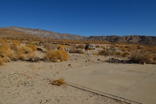 boondock site on state land north of Dillon Road.