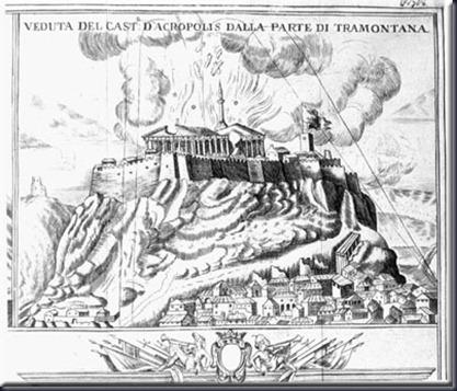 parthenon 1687