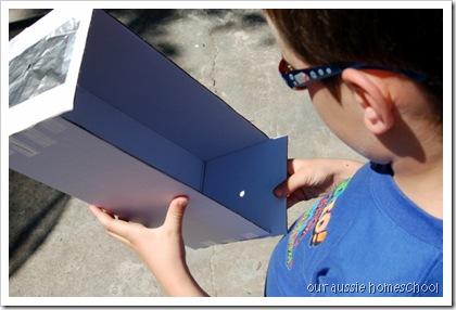 pinhole viewing box
