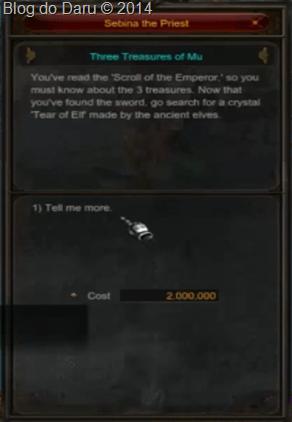 Você vai ter o custo de Zen 2,000.000 Milhões
