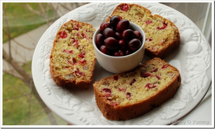 Cranberry and Orange Bread
