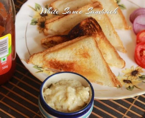 White Sauce Sandwich 1