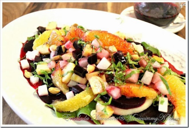 Ensalada Navideña Mexican Christmas Salad