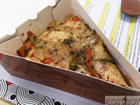 cheesy extravanganza pizza
