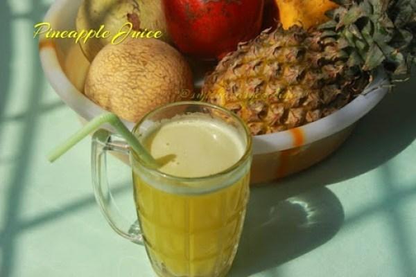 Pineapple juice2