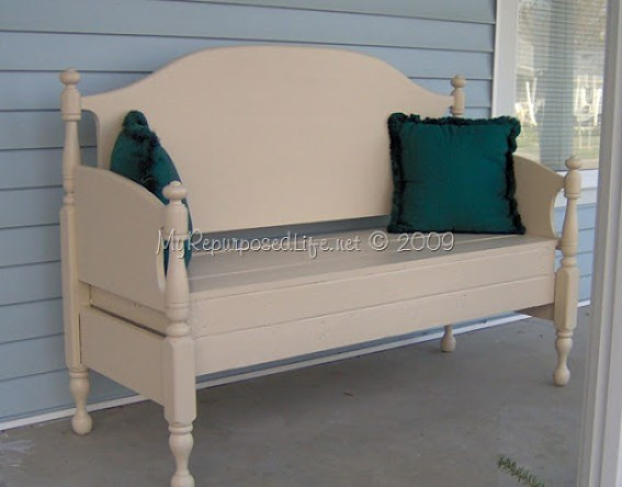 heavy duty headboard bench