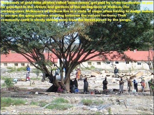 WELKOM residents under siege from illegal goldmine panners[