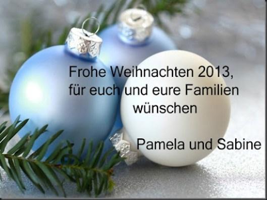 Weihnachtsgruesse 2013